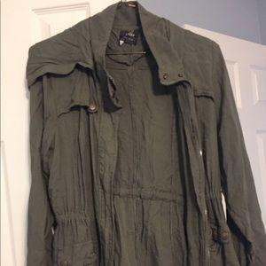 Ashley By 26 International Jackets & Blazers - Dark green pacsun jacket