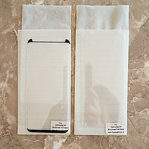 Accessories - 2 Samgsung S8 screen protector