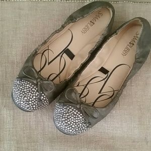 Sam & Libby Shoes - Sam &Libby bow flats 7.5