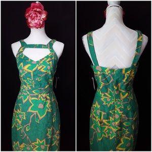 Modcloth Dresses & Skirts - Floral Cut out Sheath Dress NWT