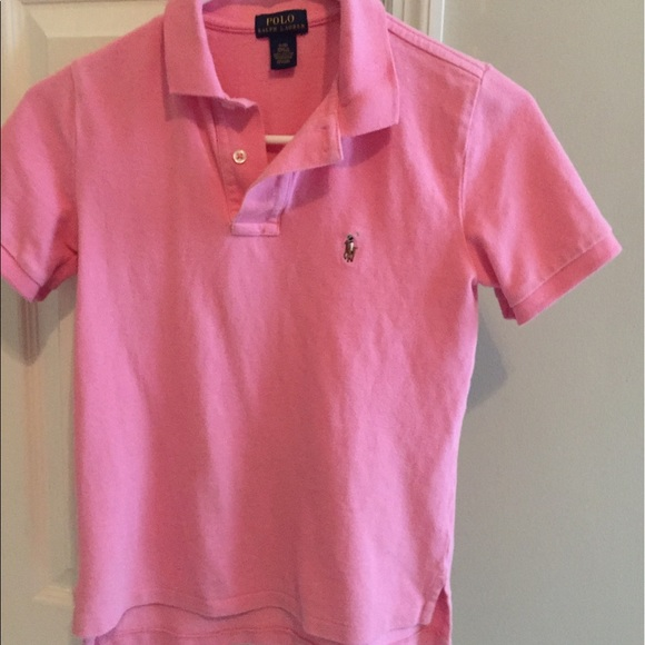 bd4336bb Polo by Ralph Lauren Shirts & Tops | Boys Salmon Colored Polo Shirt ...