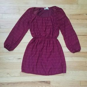Accidentally In Love Dresses & Skirts - Burgundy Dress