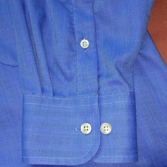 63 off chaps other chaps easy care blue button down for Chaps button down shirts