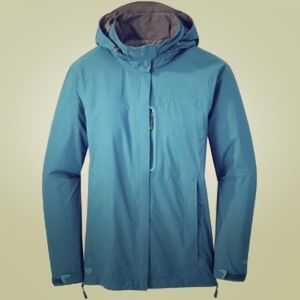 Outdoor Research Jackets & Blazers - Outdoor Research hooded rain jacket