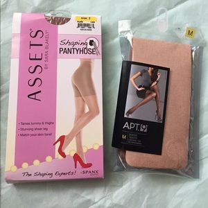 Assets By Spanx Accessories - Shaping pantyhose and sheer tights! NWT
