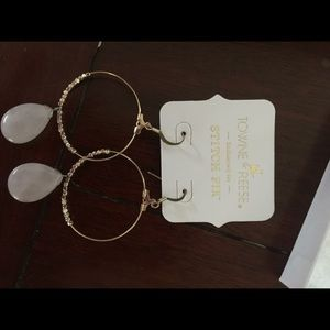 Towne & Reese Jewelry - Towne and Reese Shay Hoop Earrings