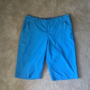 LPGA Other - blue women's golf shorts