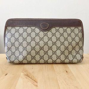 Gucci Handbags - Vintage Gucci Monogram Clutch