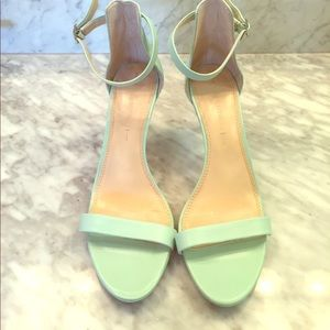 Banana Republic Sea Foam Green Heels
