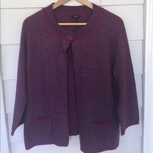 Talbots Sweaters - NWT Talbots one button sweater size large.