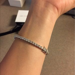26a270e13 Cate & Chloe Jewelry - Authentic Cate & Chloe Kaylee 18K Tennis Bracelet
