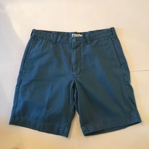 J. Crew Other - Men's J. Crew Blue Flat Front Shorts
