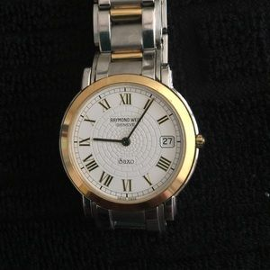 Raymond Weil Other - Raymond Weil Two Toned Saxo 9521