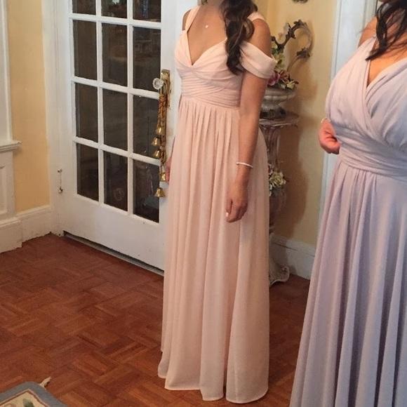 7cc5683bb242 Lulu's Dresses | Lulus Make Me Move Blush Pink Maxi Dress | Poshmark