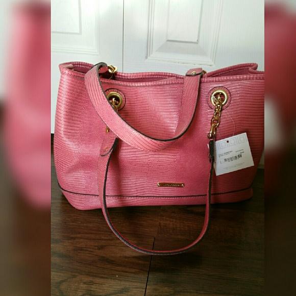 74% off Liz Claiborne Handbags - Nwt Liz Claiborne Salmon Pink ...