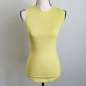 Fabletics Tops - {Fabletics} yellow running workout tank