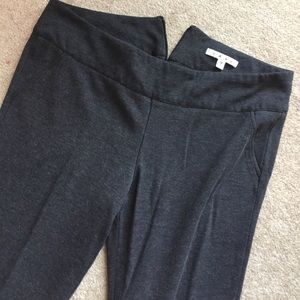 CAbi Pants - Charcoal gray Cabi back zip pants