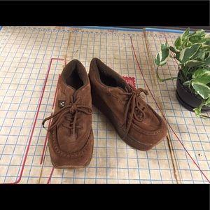 Volatile Shoes - 1990s Volatile Platform Creepers size 9