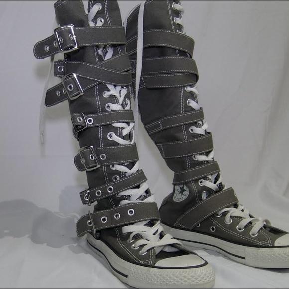 0ebebf0c868 Converse Shoes - Converse Knee High Buckle Chuck Taylor