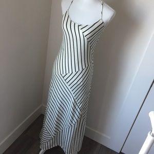 Cute Striped Maxi Dress