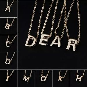 Jewelry - 3/$30 Letter Initial Monogram Necklace with Chain