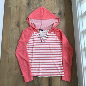 VENUS Tops - Cute summer striped hoodie