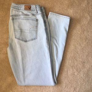 American Age Denim - Blue AE super stretch jeans