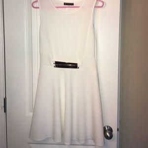 Myths Dresses & Skirts - white skater dress