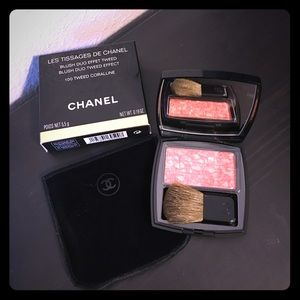 CHANEL Other - 💕Authentic CHANEL 100 Tweed Coralline Blush