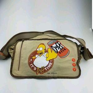 Bioworld Handbags - Simpsons - Duff Beer Classic bag It's Duff Time