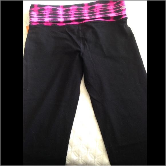 Ideology Stretch Yoga Pants Black