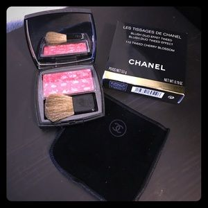 CHANEL Other - 💕Authentic CHANEL 110 Tweed Cherry Blossom