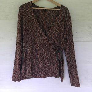 Apt. 9 Sweaters - Faux crossover sweater