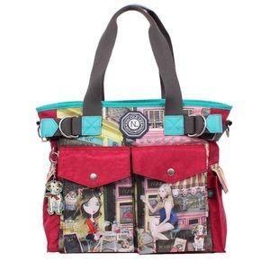Nicole Lee Handbags - NICOLE LEE CUPCAKE TOTE BAG NYLON🌺🌺🌺🌺