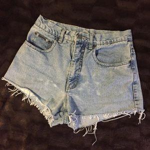 Vintage Cutoff Mom Jean shorts 80's 90's jorts vtg