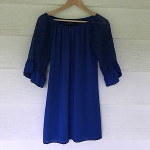boutique Tops - Royal blue tunic