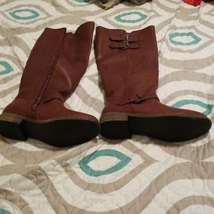JustFab Shoes - Burgundy boots
