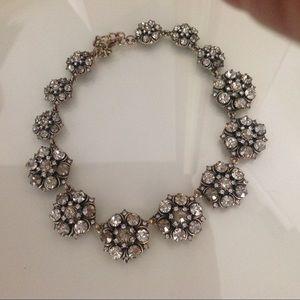 Zara Jewelry - Zara Gem Choker in Metallic