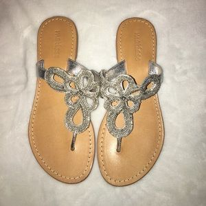 Matisse Shoes - NWOT MATISSE SPARKLY SANDALS