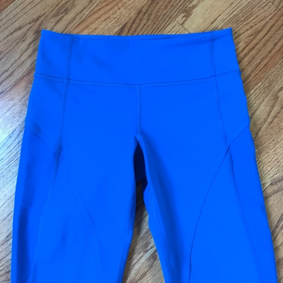 55% off lululemon athletica Pants - ud83cudf4blululemon legging rare royal blue ankle zip from Jamieu0026#39;s ...