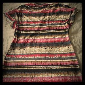 Trina Turk 100% silk mini dress