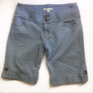 CAbi Pants - CAbi Ticking Stripes Shorts