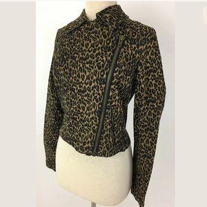 Urban Outfitters Jackets & Blazers - Silence & Noise leopard jacket