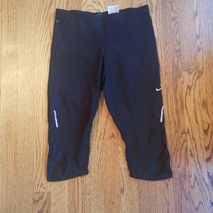 Nike Pants - Nike black dri fit workout leggings M