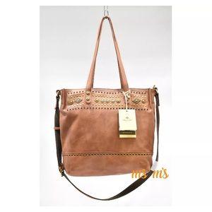 Patricia Nash Handbags - NWT Patricia nash leather Crossbody brown