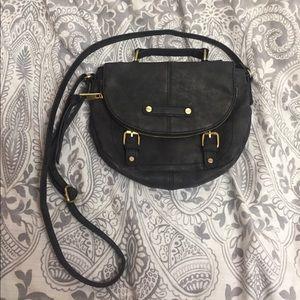 A+ Ellen Handbags - Black leather purse
