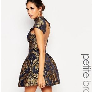 ASOS Petite Dresses & Skirts - NWT ChiChi London Open Back Mini Dress Sz 4 UK