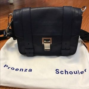 Proenza Schouler Handbags - Proenza Schouler PS1 Mini cross body Indigo