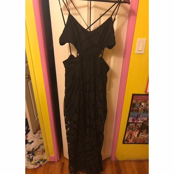 68 silence and noise dresses skirts black maxi