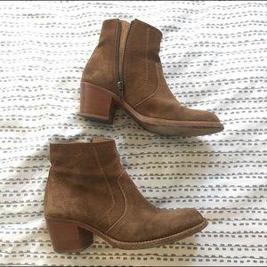 A.P.C. Shoes - A.P.C. Suede Ankle boots